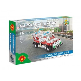 Alexander - Klocki Konstrukcyjne - Mały Konstruktor - Pogotowie - 6246