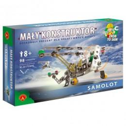 Alexander - Klocki Konstrukcyjne - Mały Konstruktor - Samolot