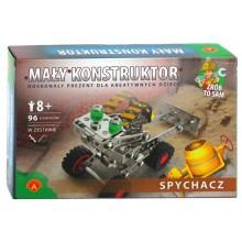 Alexander - Klocki Konstrukcyjne - Mały Konstruktor - Spychacz - 1043