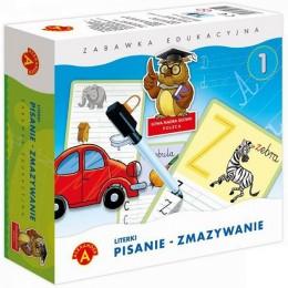 Alexander - Zestaw edukacyjny - Pisanie - Zmazywanie - Literki - 7398