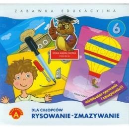 Alexander Rysowanie - Zmazywanie dla chłopców