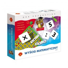 Alexander Gra Edukacyjna - Wyścig matematyczny BIG
