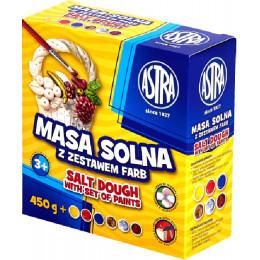Astra - Masa solna z zestawem farb - 0080