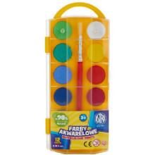 Astra - Farby akwarelowe 12 kolorów - 0212
