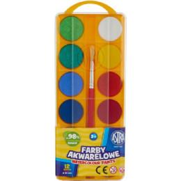 Astra - Farby akwarelowe 12 kolorów - 0229