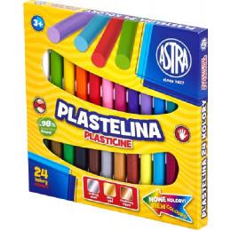 Astra - Plastelina 24 kolory - 0651