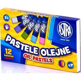 Astra - Pastele olejne 12 kolorów - 0771