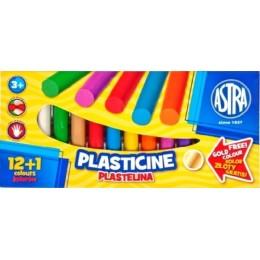 Astra – Plastelina 12 + 1 kolorów – 7504