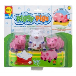 Alex Toys 825PN Zabawki do wody - Brudne Świnki