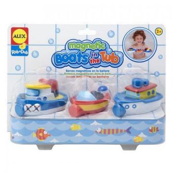 Alex Toys A825W Magnetyczne łódki do zabawy w wodzie