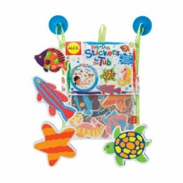 Alex Toys 633 Piankowe Puzzle Naklejki - Morskie Zwierzątka
