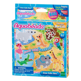 Aquabeads - Wodne Koraliki - Zwierzęta w zoo - Zestaw uzupełniający 31078