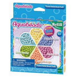 Aquabeads - Wodne Koraliki - Koraliki pastelowe - Zestaw uzupełniający 31360