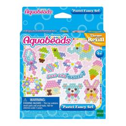 Aquabeads - Wodne Koraliki - Pastelowe fantazje - Zestaw uzupełniający 31361