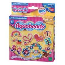 Aquabeads - Wodne Koraliki - Zestaw klejnocików i szablonów 31648