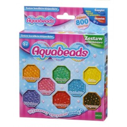Aquabeads - Wodne Koraliki 31668 Zestaw Koralików - Klejnocików 800 szt.