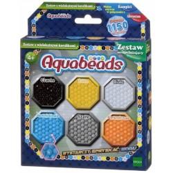 Aquabeads - Wodne Koraliki 31738 Zestaw uzupełniający - Wielokątne 1150 sztuk