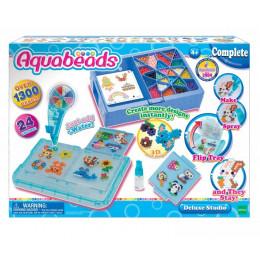 Aquabeads – Wodne Koraliki – Studio Deluxe – duży zestaw 1300 koralików – 32798