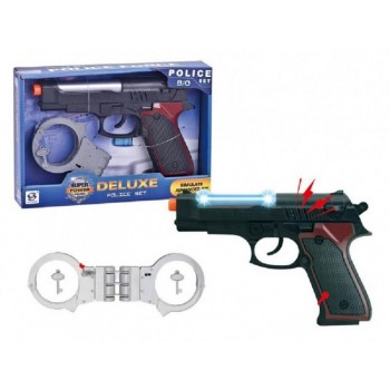 Askato 105949 Pistolet policyjny z kajdankami