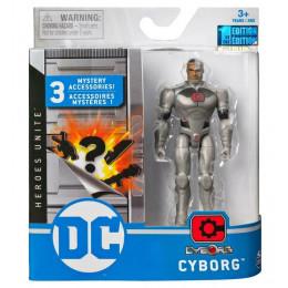 DC Heroes – Figurka akcji z akcesoriami 10 cm – Cyborg - 3843
