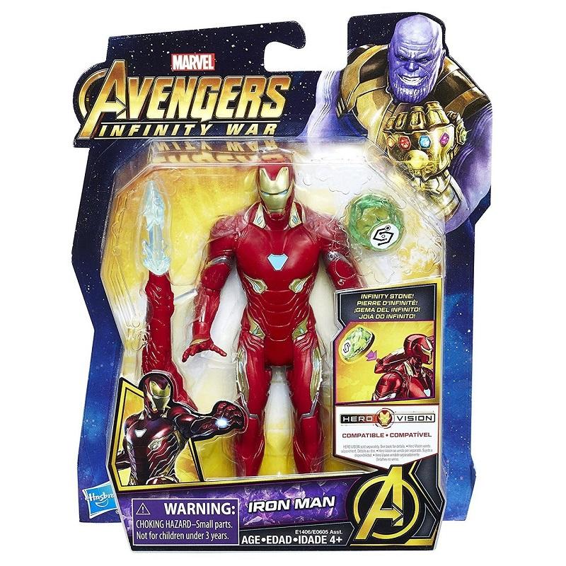 Avengers Figurka Iron Man 13cm I Dodatki E0605 E1406 Sklep