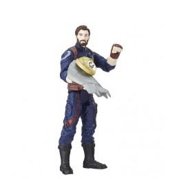 Avengers - Figurka Kapitana Ameryki 13cm i dodatki - E0605 E1407