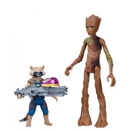 Avengers - Figurki i dodatki - Groot i Raccoon Rocket - E0563 E2070
