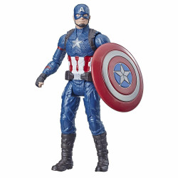 Avengers Marvel - Kapitan Ameryka - Figurka z akcesoriami E3348 E3932