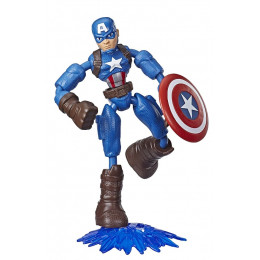 Avengers - Bend and Flex - Figurka Kapitan Ameryka - E7869