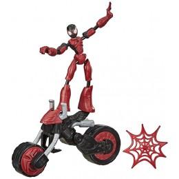 Spider-Man – Bend and Flex – Spider-Man z pojazdem F0236