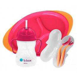 B.Box – Zestaw do karmienia – Strawberry Shake - 00392