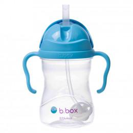 B.Box - Bidon niekapek z obciążoną słomką - Kolor borówkowy 00501