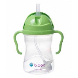 B.Box - Bidon niekapek z obciążoną słomką - Kolor jabłkowy 00503