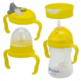 B.Box – Kubek niekapek – Zestaw 4w1 – Lemon – 00496