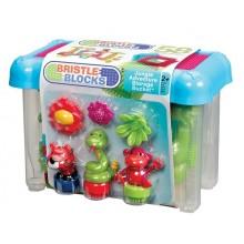 B.Toys - Klocki jeżyki - Dżungla - 58 el. w pudełku BX3067