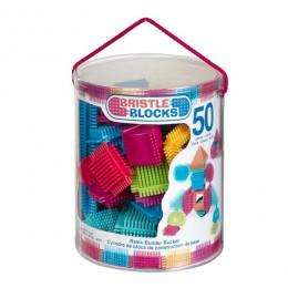 B.Toys - Elastyczne Klocki Jeżyki - Bristle Blocks - Tuba 50el. BX3068
