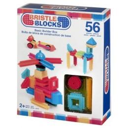 B.TOYS 3070 Elastyczne Klocki Jeżyki Bristle Blocks 56 el