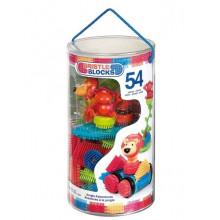B.Toys - Klocki Jeżyki - Dżungla - Zestaw w tubie 54el. BX3093