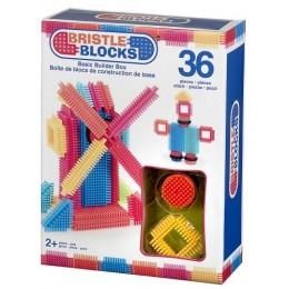 B.TOYS 3099 Elastyczne Klocki Jeżyki Bristle Blocks 36 el