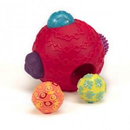 B.Toys - Kula sensoryczna z piłkami - Ballyhoo - BX1153