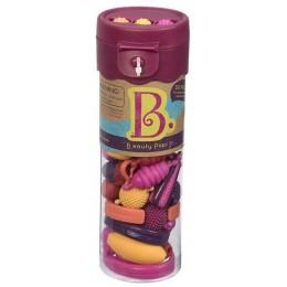 B.TOYS BX1377 Różowy Zestaw Koralików do tworzenia biżuterii 50 el