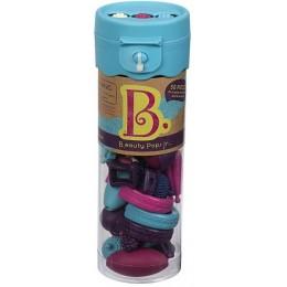 B.TOYS BX1378 Niebieski Zestaw Koralików do tworzenia biżuterii 50 el