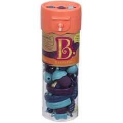B.TOYS BX1400 Pomarańczowy Zestaw Koralików do tworzenia biżuterii 50 el