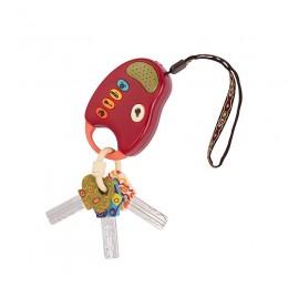 B.Toys BX1204 Zestaw kluczy z pilotem FUNKEYS