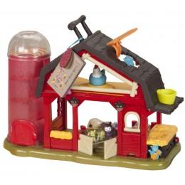 B.Toys - Interaktywna zagroda dla zwierząt - Stodoła BX1222