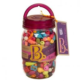 B.Toys – Zestaw koralików do tworzenia biżuterii – B.eauty Pops 275 el. – BX1232