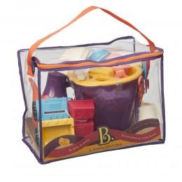 B.TOYS - Akcesoria plażowe - Zabawki do piasku w torbie - BX1308