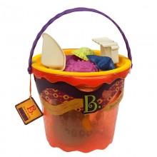 B.Toys -  Zabawki do piasku - Duże wiaderko z akcesoriami - BX1445