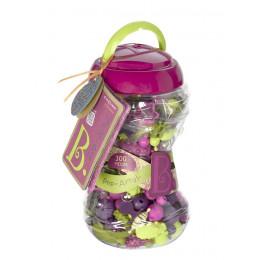B.Toys - Zestaw koralików do tworzenia biżuterii Pop Arty 300el. - BX1468