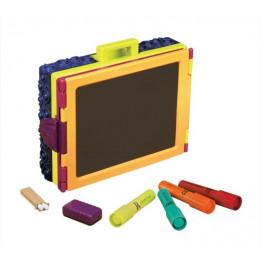 B.Toys – Sztaluga w walizce z akcesoriami – Take It Easel BX1487